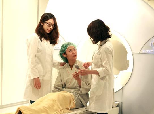 全身磁振造影健康檢查示意圖
